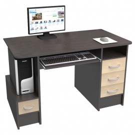 Комп'ютерний стіл Ніка-12 без надбудови