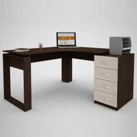 Офісний стіл Еко-28 (1450х1400)